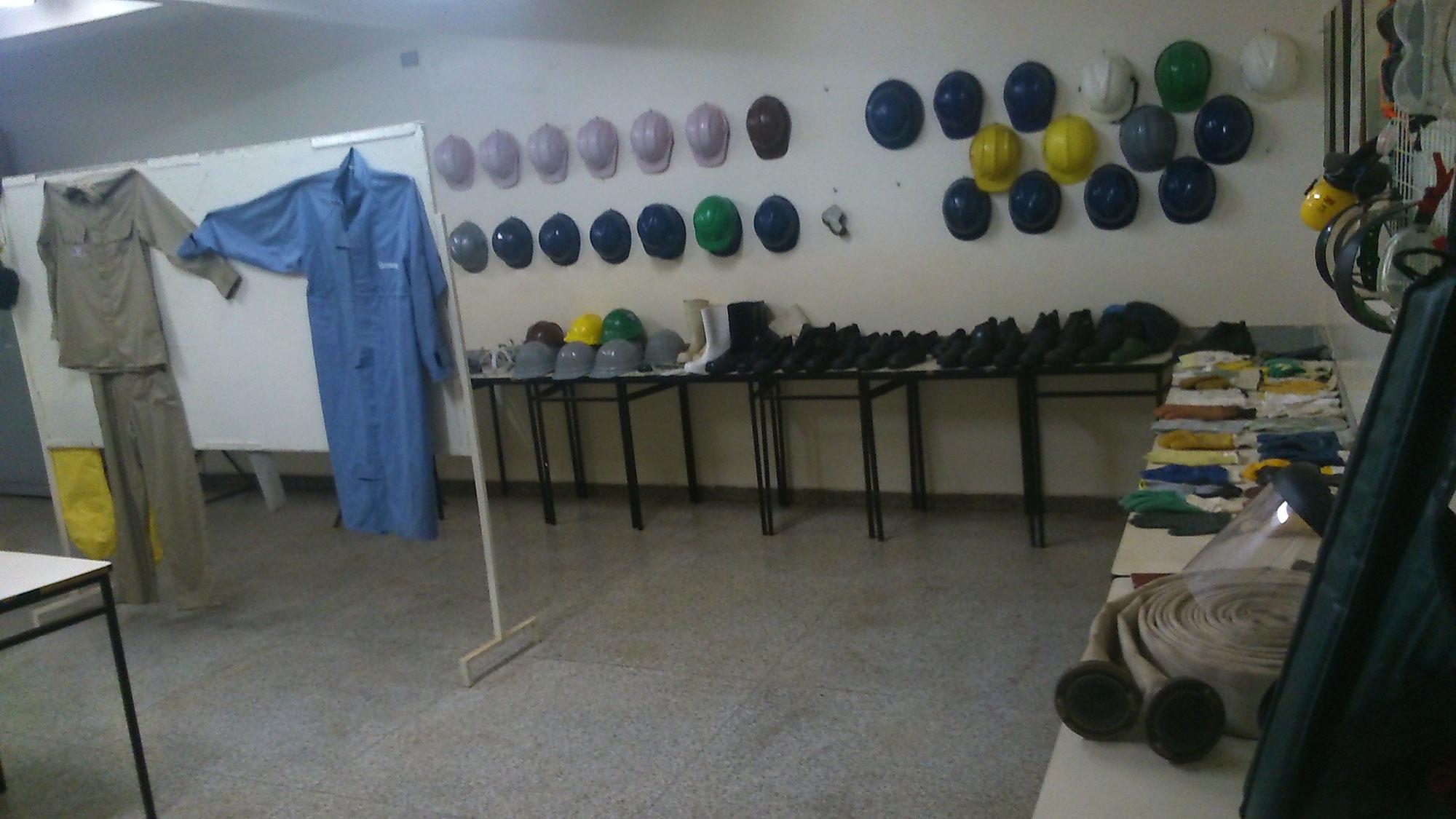 CSA-Valparaíso - Laboratório TST