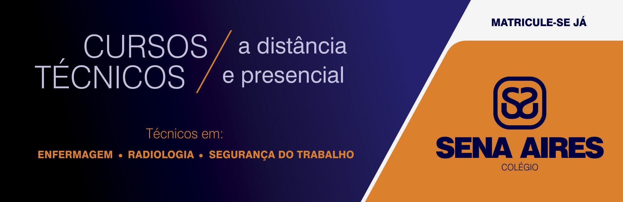 Banner Cursos Técnicos Presenciais